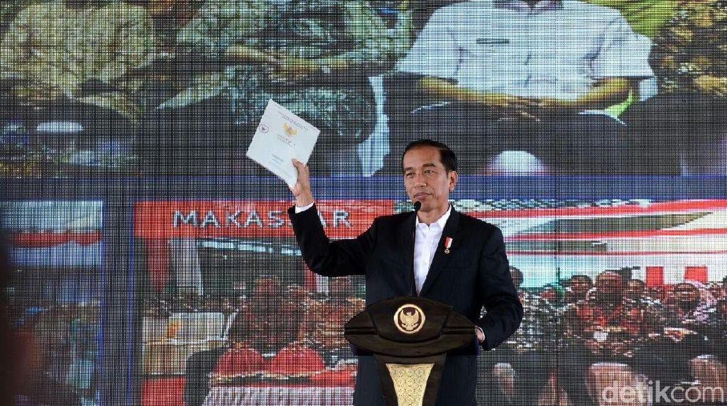 Cerita Jokowi Ancam Menteri ATR Bila Tak Capai Target