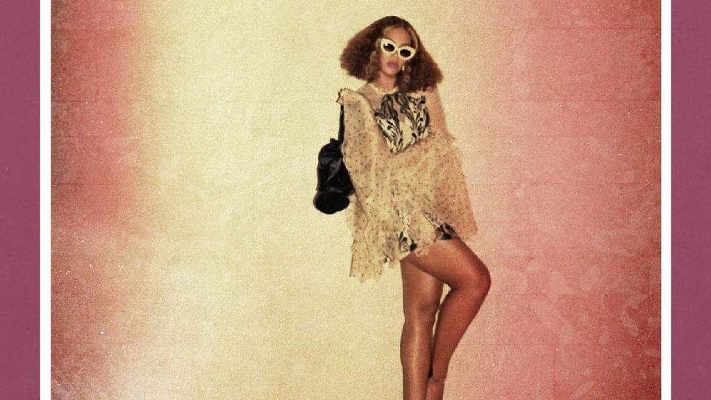 Foto: Gaya Seksi Beyonce Pamer Rambut Baru yang Pendek