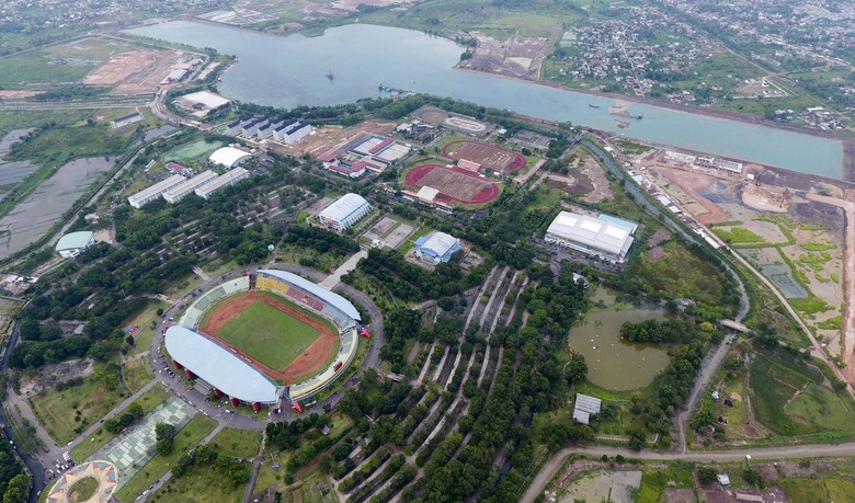 Melihat Kota Olahraga Jakabaring Sport City