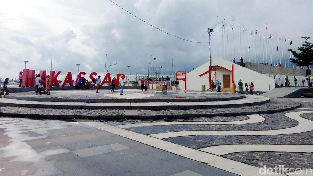 Zikir Akbar & Pesta Rakyat Warnai Tahun Baru di Makassar