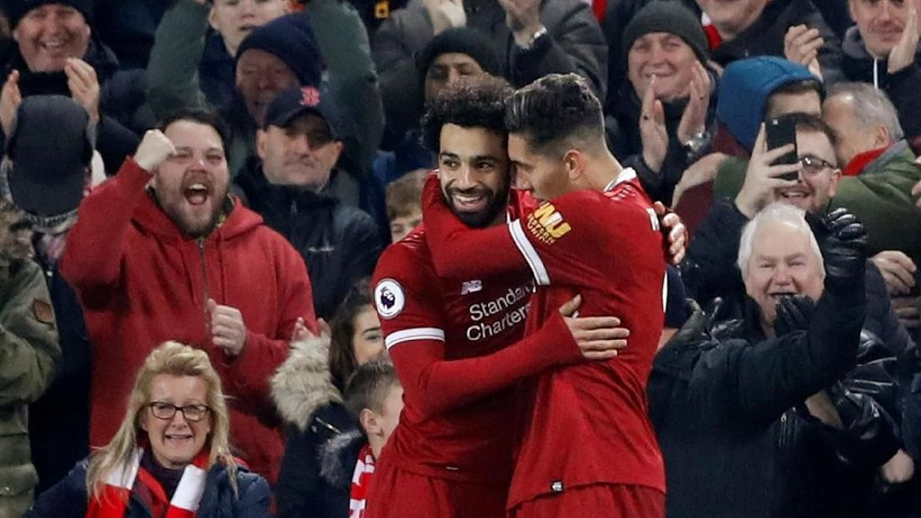 Nyanyian Suporter Bikin Salah Nyaman di Liverpool