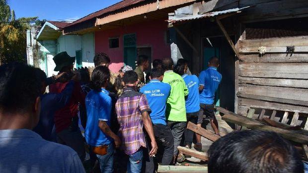 Buaya 2 Kuintal Gegerkan Warga Bengkalis, Butuh 11 Orang Evakuasi