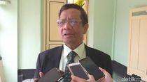 ICW Sebut Mahfud MD Cocok Jadi Cawapres Jokowi