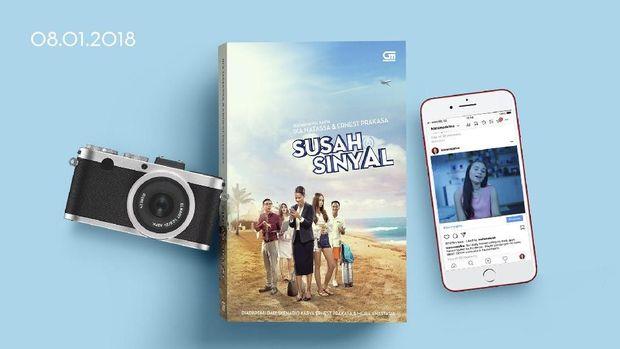 Pre Order Novel 'Susah Sinyal' Ludes Seribu Eksemplar dalam Waktu 30 Menit