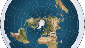 Kehebohan Teori Bumi Datar Sepanjang 2017