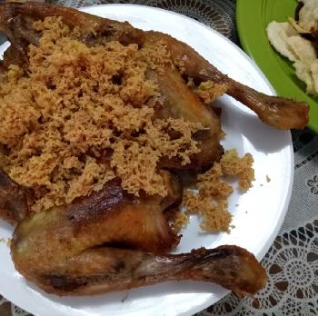 Resep : Ayam Kremes Mantap
