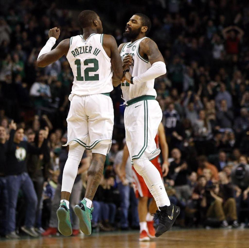 Sempat Tertinggal 26 Poin, Celtics Comeback untuk Kalahkan Rockets