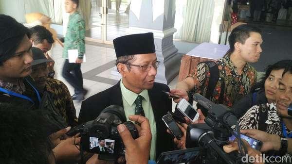 Soal Pasal Antikritik, Mahfud MD: DPR Kacaukan Ketatanegaraan