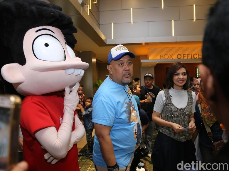 Nobar Si Juki The Movie, Najwa Shihab Tak Henti Tertawa