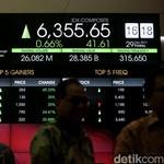 Jokowi Reshuffle Kabinet, IHSG Dibuka Fluktuatif