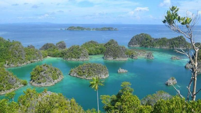 Gugusan pulau di Raja Ampat (gedeleo/dTraveler)
