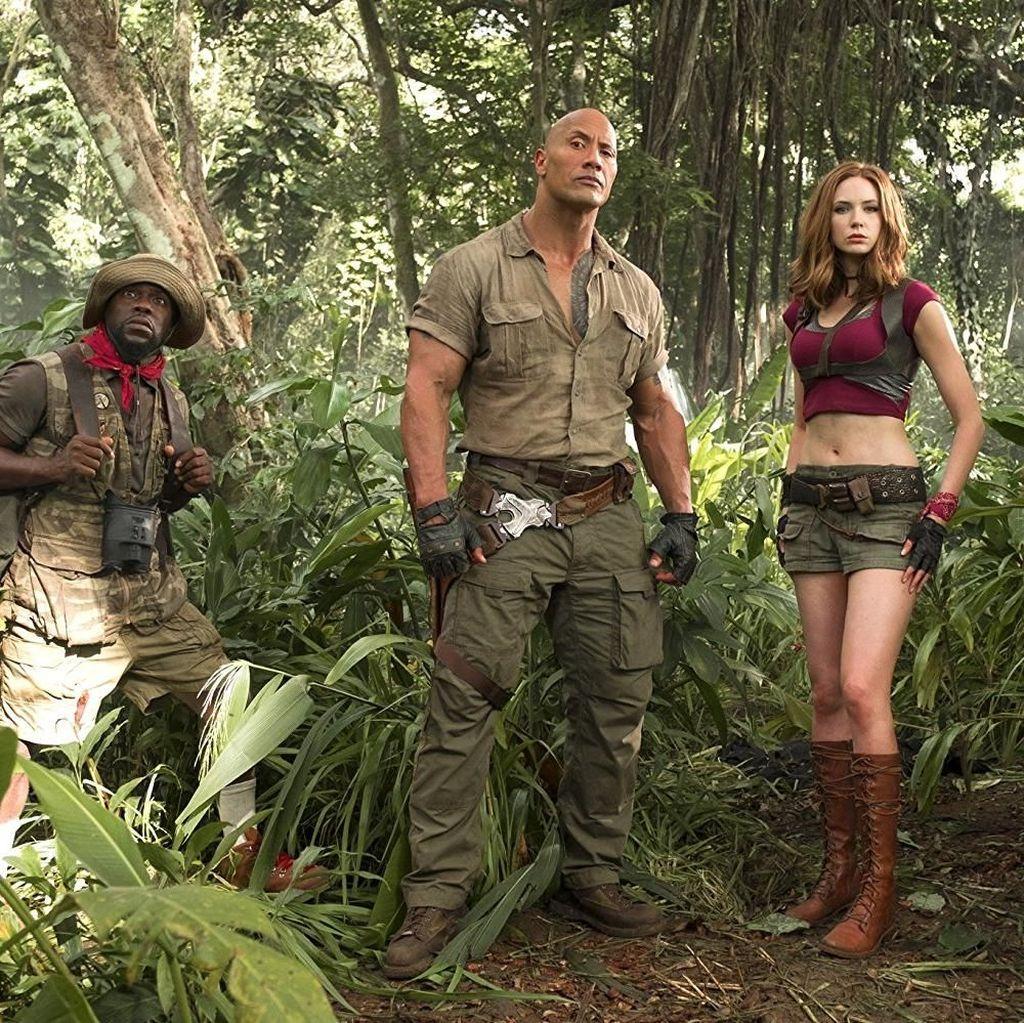 Jumanji: Welcome to the Jungle Tak Terkalahkan dari Puncak Box Office