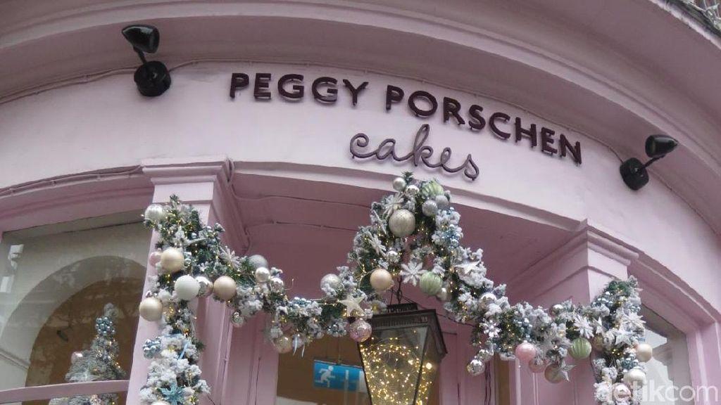 Makan-makan Cantik di Toko Kue Instagramable Peggy Porschen, London