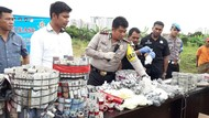 Jelang Tahun Baru, Polisi Sita Ratusan Ribu Petasan di Tangsel