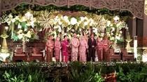 Jokowi Hadiri Pesta Pernikahan Putri Mensesneg
