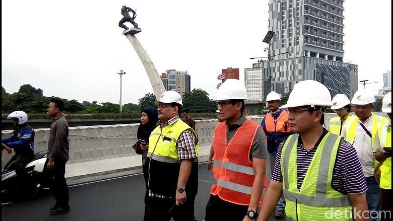 Penampakan Terkini Proyek Flyover Pancoran yang Molor