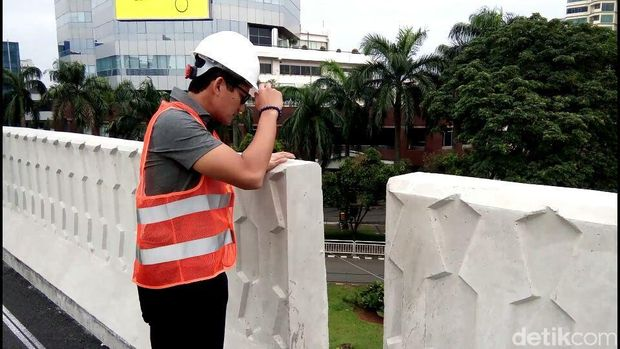 Ditanya Sandi, Flyover Pancoran Dijanjikan Selesai Pekan ke-2 Januari