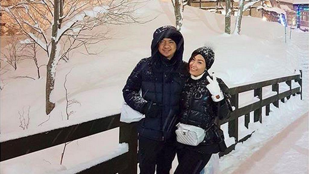 Cerita Ayu Dewi Saat Berlibur ke Jepang Bareng Keluarga