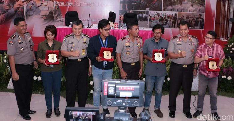 detikcom Terima Penghargaan dari Polda Metro Jaya