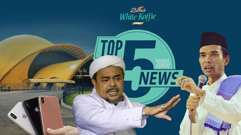 Silaturahmi Ustaz Somad & Habib Rizieq, Gugatan ke Apple Meluas