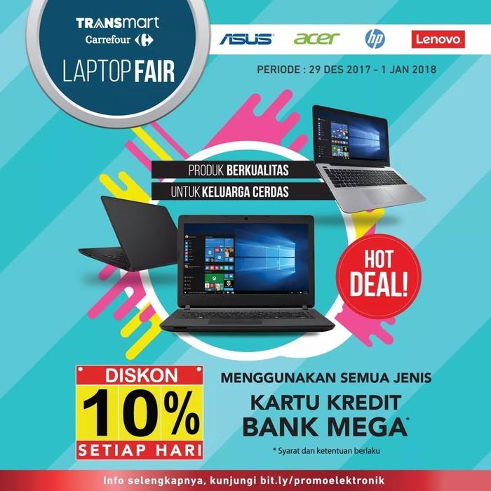Foto: Laptop Fair di Transmart Carrefour (Dok. Transmart Carrefour)