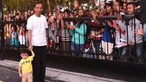 Melihat Momen Malam Tahun Baruan Jokowi dan Keluarga di Yogyakarta