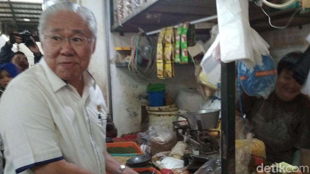 Sambut Tahun Baru, Mendag Sidak Pasar di Cirebon