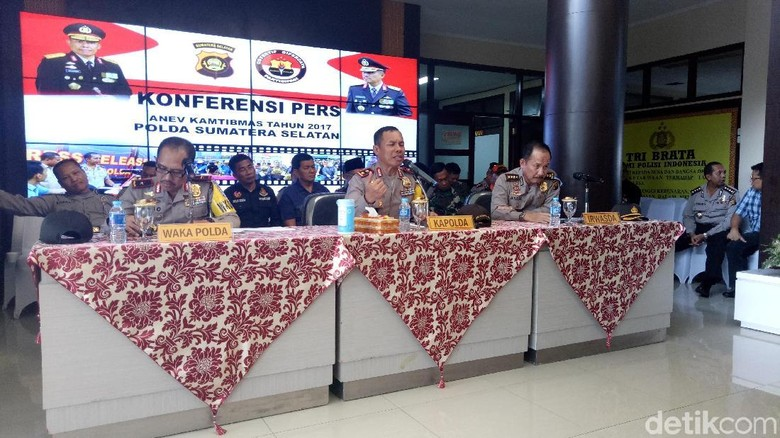 Polda Sumsel Pecat 24 Anggota, Mayoritas Terlibat Kasus Narkoba