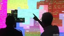 Peta Pasokan Listrik Malam Tahun Baru di Jakarta
