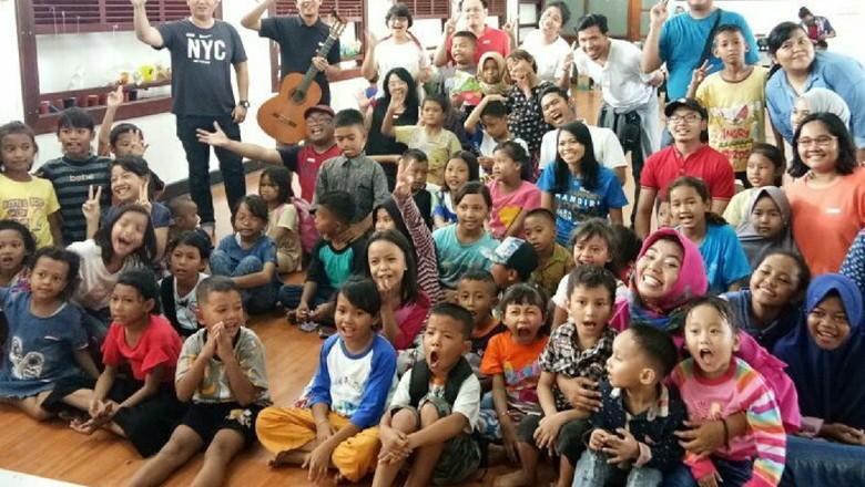 Ikhtiar Agar Anak-anak Mendapat Kehidupan dan Pendidikan yang Layak (Foto: Instagram/sahabatanak)