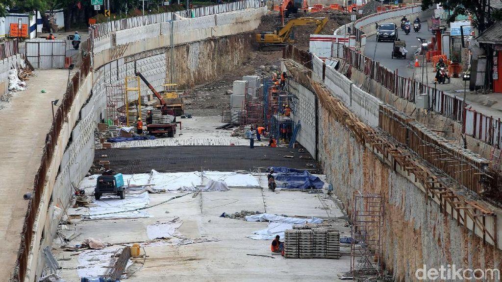 Hampir Beres, Pembangunan Underpass Mampang-Kuningan Sudah 86%