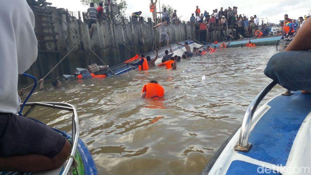 Insiden Maut Speedboat Tabrak Pohon, 31 Penumpang Diselamatkan