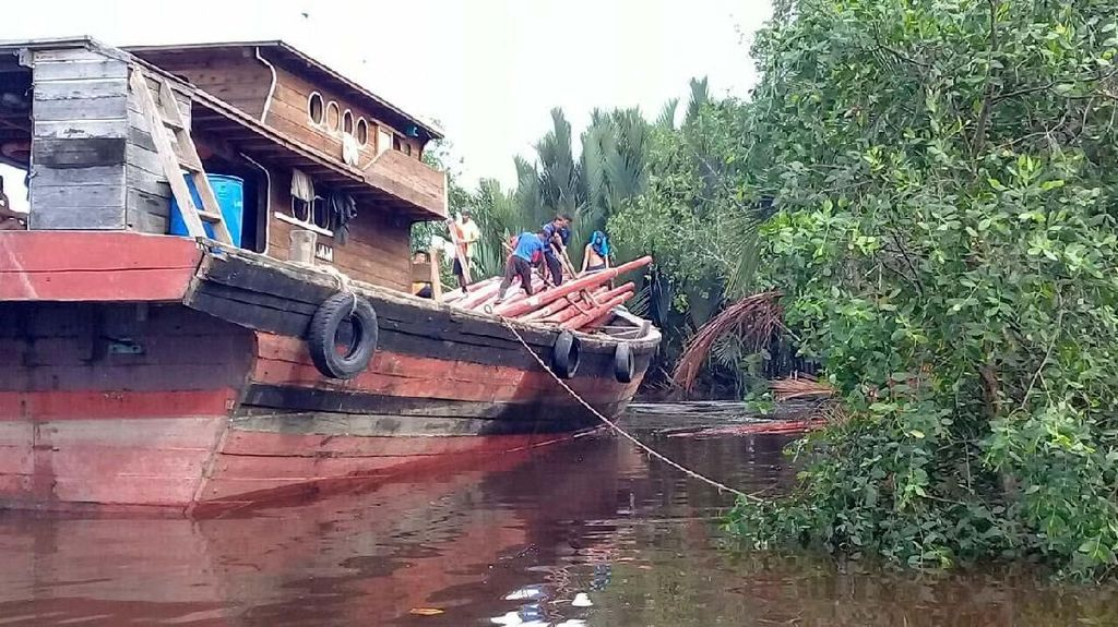 Ini Lho Kado PLN untuk Warga Desa Teluk Nibung di Riau