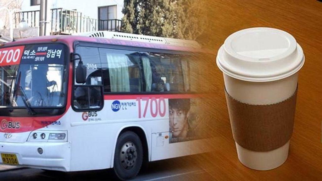 Mulai Hari Kamis Nanti Pemerintah Seoul Larang Penumpang Bawa Kopi ke Dalam Bus