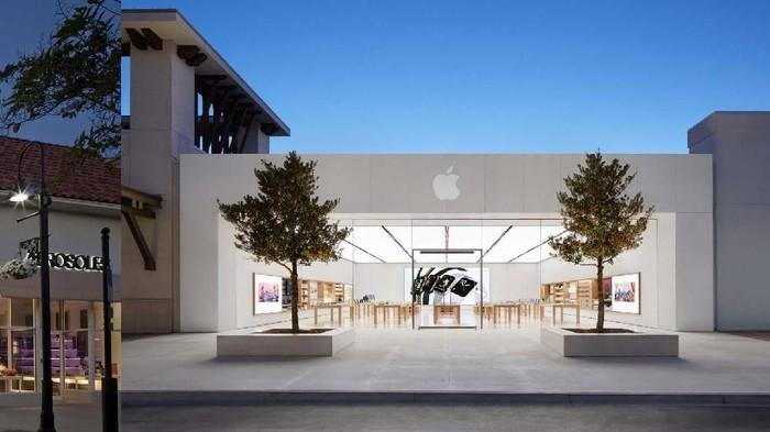Ilustrasi Apple. Foto: Internet