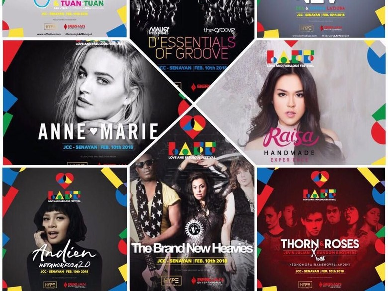 2 Musisi Internasional Siap Ramaikan LAFFestival di Awal 2018