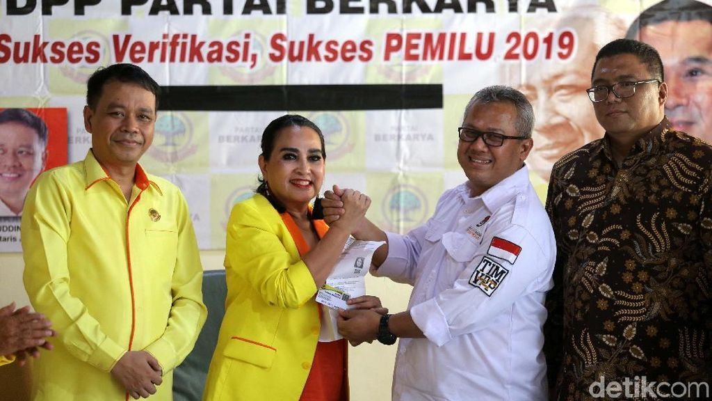 KPU Lakukan Verifikasi Faktual Partai Besutan Tommy Soeharto