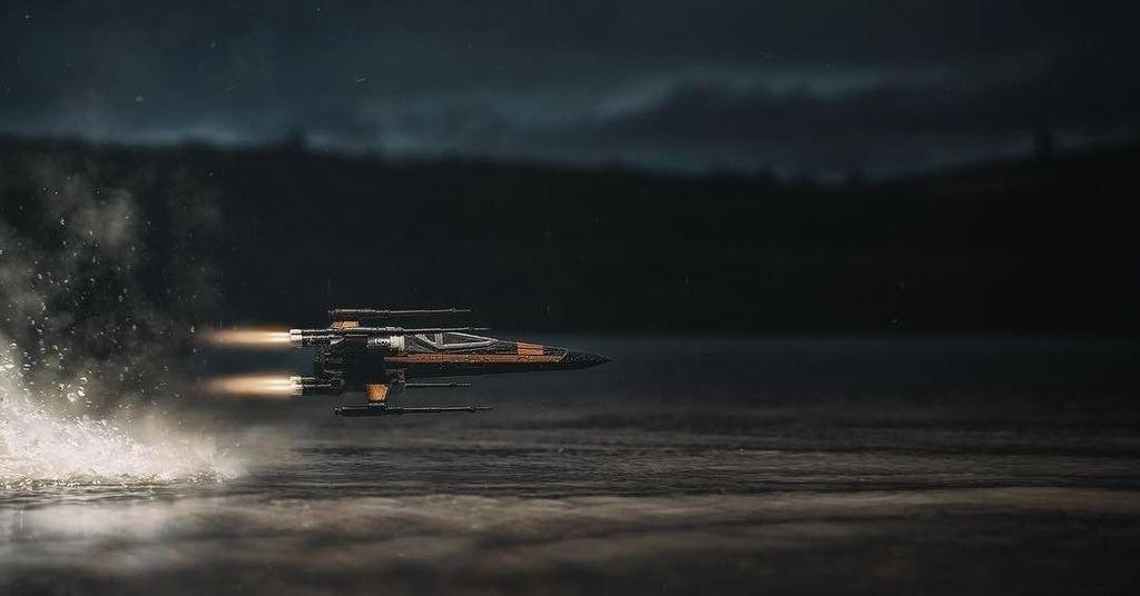 Bagaimana memotret X Wing yang keren ini? Foto: instagram.com/matt.burn