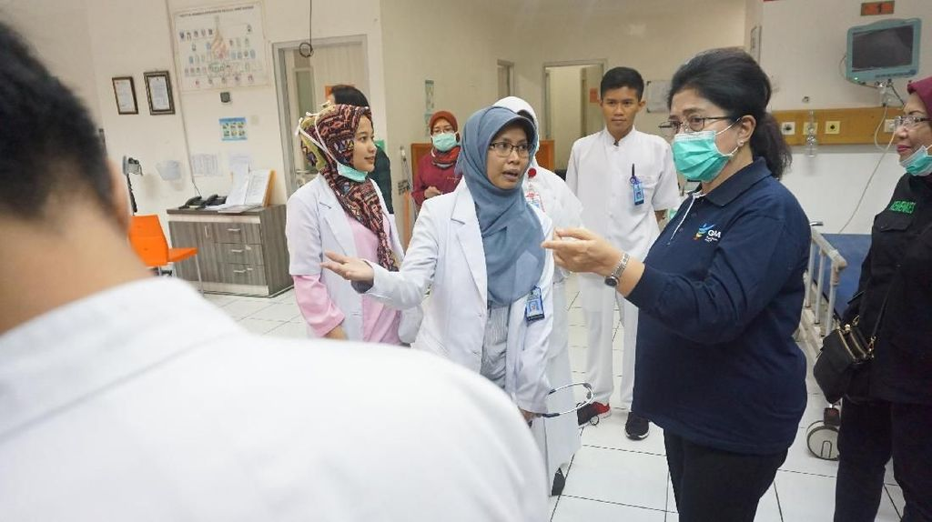 Jelang Pergantian Tahun, Menkes Sidak Tiga RS di Jakarta