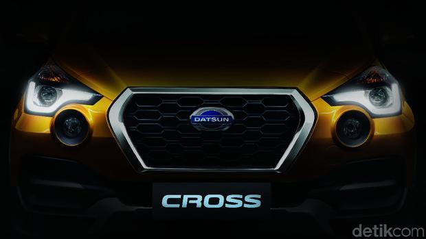 Teaser Datsun Cross