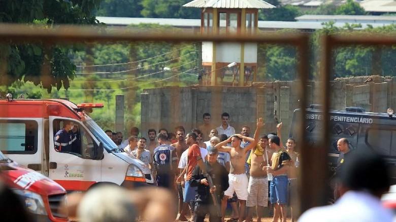 Keributan Antar Napi di Brasil Tewaskan 9 Orang