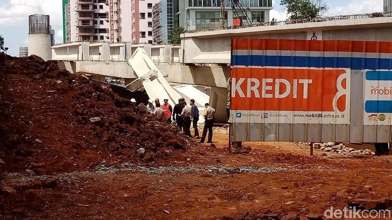 Kerugian Ambruknya Girder di Tol Desari Ditanggung Asuransi