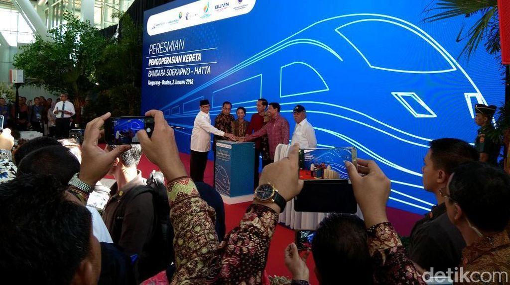 Jokowi Minta Kereta Bandara Soetta Tersambung Kereta Cepat