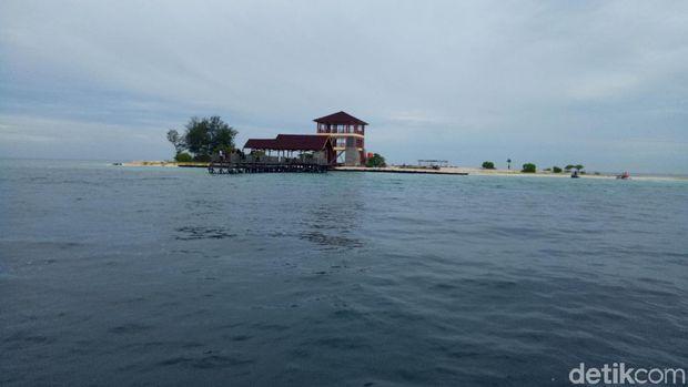 Pulau ini tidak berpenghuni (Ibnu/detikTravel)