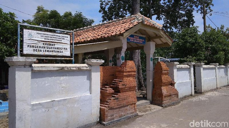 Inilah situs Keramat Pangeran Surya Negara, Desa Lemah Tamba, Kecamatan Panguragan, Kabupaten Cirebon, Jawa Barat (Sudirman Wamad/detikTravel)