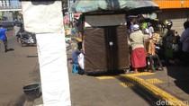 PKL Masih Berjualan di Trotoar Bali Mester Jaktim, Pejalan Kaki Terganggu