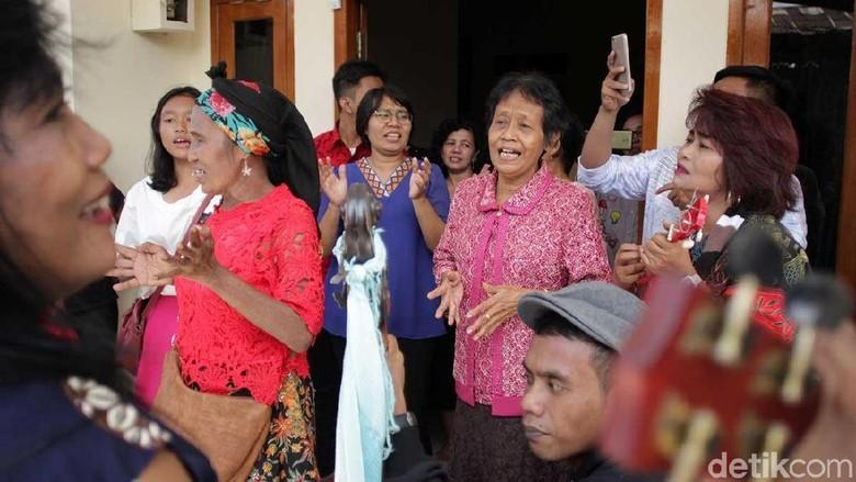 Tradisi Rabo-rabo di Kampung Tugu (Randy/detikTravel)