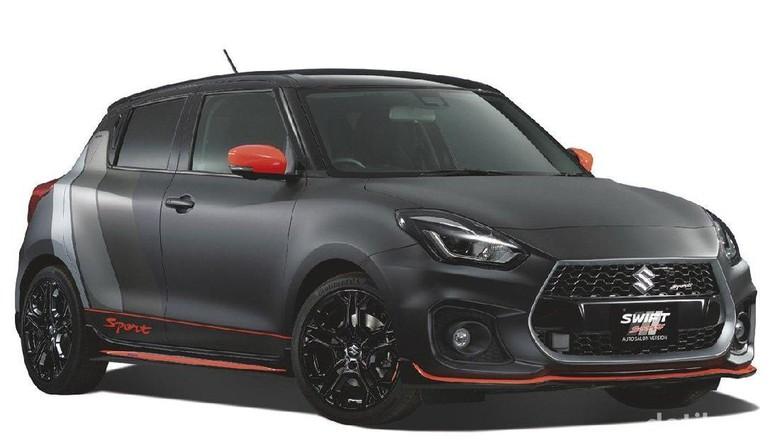 Sangarnya Suzuki Swift Sport, Hot Hatch Berwarna Hitam