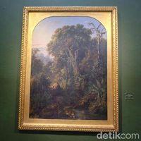 Lukisan Raden Saleh 'Harimau Minum'