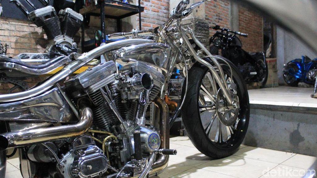 Butuh 7 Bulan untuk Sempurnakan Harley Tahan Karat Ini